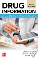 Drug Information A Guide for Pharmacists 6 E