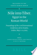Nile into Tiber  Egypt in the Roman World