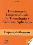 Diccionario Langenscheidt de Tecnolog  a y Ciencias Aplicadas