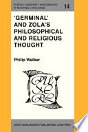 Germinal  and Zola s Philosophical and Religious Thought
