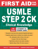 First Aid for the USMLE Step 2 CK  Seventh Edition