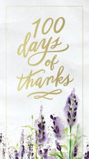 100 Days of Thanks Book Cover