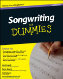 download ebook songwriting for dummies pdf epub