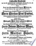 Historische Nachricht von der St. Johannis Kirche in Flensburg und den Diaconis, die seit 200 Jahren bis hieher derselben vorgestanden