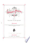 Ebook A New Library of Poetry and Song Epub William Cullen Bryant Apps Read Mobile