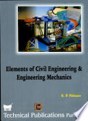 Elements Of Civil Engineering And Engineering Mechanics