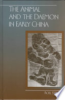 The Animal and the Daemon in Early China
