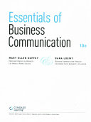 Essentials of Business Communication   Premium Website  1 term Access   Aplia  1 term Access