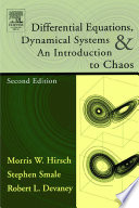 Differential Equations, Dynamical Systems, and an Introduction to Chaos Differential Equations And The Relations Between
