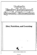 Diet Nutrition And Learning