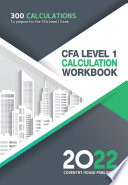 Cfa Level 1 Calculation Workbook