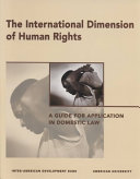 The International Dimension of Human Rights