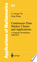 Continuous Time Markov Chains And Applications