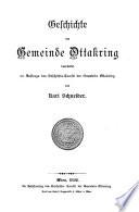 Geschichte der Gemeinde Ottakring