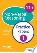 11  Non Verbal Reasoning Practice Papers 1