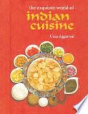 illustration du livre The Exquisite World of Indian Cuisine