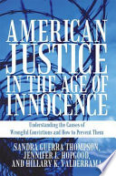 American Justice in the Age of Innocence