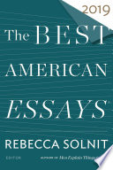 Book The Best American Essays 2019