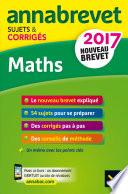 Annales Annabrevet 2017 Maths 3e