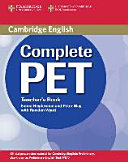 Complete Pet Teacher S Book