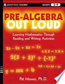 Pre Algebra Out Loud
