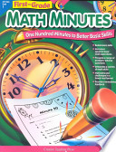 Math Minutes  1st Grade  eBook