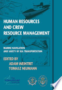 Human Resources and Crew Resource Management University Poland In June 2011 Has Brought
