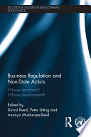 Business Regulation and Non State Actors