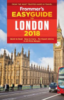 Frommer s Easyguide to London 2018
