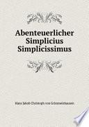 Abenteuerlicher Simplicius Simplicissimus