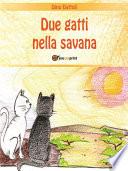 Due gatti nella savana