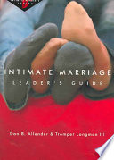 Intimate Marriage Leader S Guide