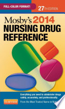 Mosby s 2014 Nursing Drug Reference