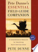 Pete Dunne s Essential Field Guide Companion