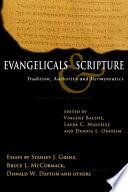 Evangelicals Scripture