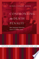 Confronting the Death Penalty