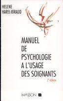illustration Manuel de psychologie à l'usage des soignants