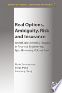Real Options Ambiguity Risk And Insurance