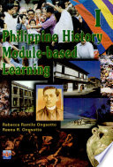 Philippine History Module Based Learning I 2002 Ed
