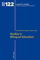 Studies in Bilingual Education