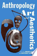Anthropology, Art, and Aesthetics PDF