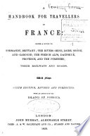 A handbook for travellers in France