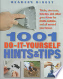 1001 Do it yourself Hints   Tips