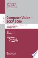 Computer Vision - ECCV 2006