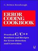 Error Coding Cookbook
