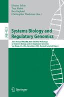 Systems Biology And Regulatory Genomics book