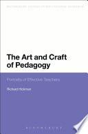 The Art and Craft of Pedagogy