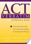 ACT Verbatim for Depression   Anxiety