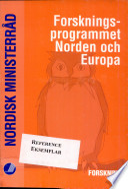 Forskningsprogrammet Norden och Europa