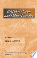 GABA in Autism and Related Disorders